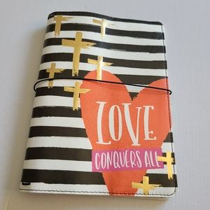 Traveler's Notebook, Lined with Heart Design